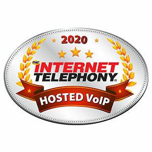 Reinvent 2020 Hosted VoIP Award Winner
