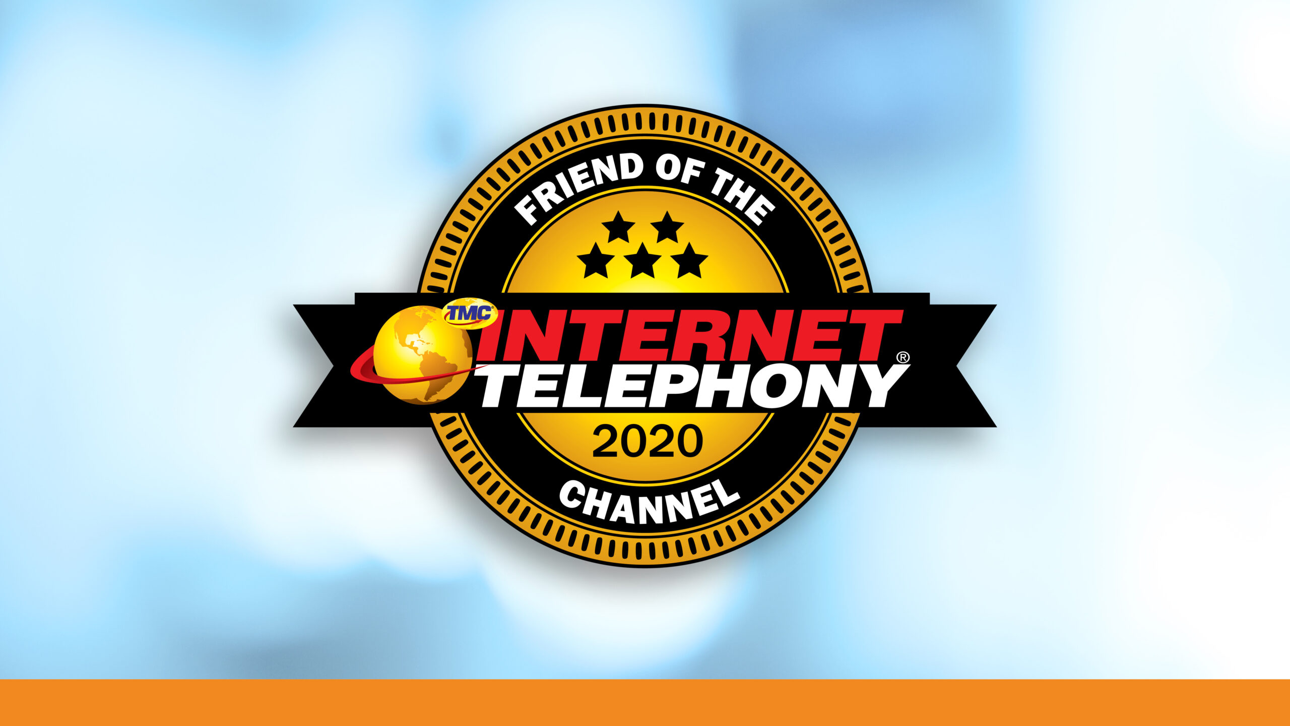 Reinvent Wins 2020 INTERNET TELEPHONY Friend of the Channel Award